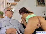 Euro Teen Fucked By Old Man During Casting