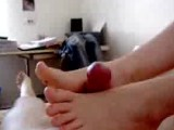 Great Amateur Footjob