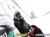 STREETFLIRTS.com Outdoor Interracial
