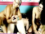 3 Bisexual Teen Girls Get Wild On Webcam