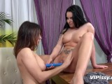 Vipissy – Camilla Moon And Lucia Denvile In Lesbian Piss Drinking Video