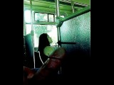 Latina Chick #2 Can't Stop Looking At Big Dick On Bus