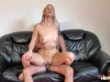 BlondeHexe – Awesome Threesome Fucked From 2 Guys