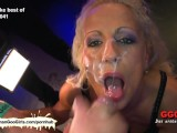 Bukkake And Girl On Girl Action With Brunette And Blonde Hotties