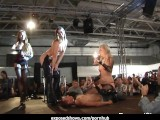 Naughty Sexy Girls Stripping On The Stage