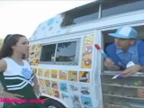 Icecream Truck Cute Eightteen Year Old Cheerleader Gets Long White Dick Fuc