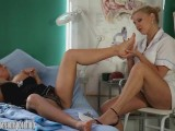 Sexy Milf Lana Cox Gets Toe Sucked And Footjob From Naughty Nurse