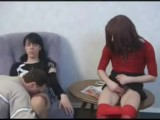 Crossdresser Creampie Three Some