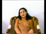 Retro German Girl With Piercings Dildos Herself