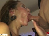 Taking Turns On The Queen Of Cum Viktoria – German Goo Girls