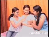 Indian Lesbian GF Group Sex Video
