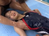 Japanese Girl With 4 Suit Of Sport