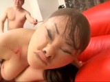Chubby Japanese Girl With Pantyhose On Face