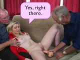 BLUE PILL MEN – Young Stacie Gets Schooled By Three Horny Old Men
