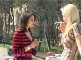 Lena & Tatiana 120s On Balcony