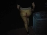 Smoking Naked On The Porch