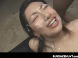 Asian Girl Sex Toys Asian Bukkake Cum Facials