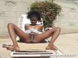 Black Teen Creampied In Backyard