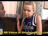 Interracial Teen Cheerleader BBC Anal