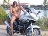 Crazy Biker Girl
