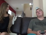 Fat Loser Guy With Cute Teen Girl