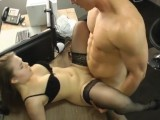 Laura Teen At The Office
