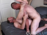 Cum Club: Hot-n-Beefy Stud Fucks Ass Hard W/Thick Cock