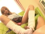 School Girls Loose Socks Footjob