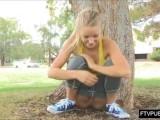Girl Peeing In Public