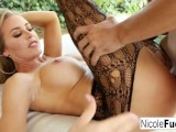 Hot Nicole Aniston Shows Off Her Amazing Ass Then Gets A Good Fuckin