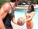 FILF – Naughty Brazilian Teen Gina Valentina Poolside Fuck With Neighbor
