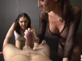 Two Demon Girls Torture A Guy With Sensual Sex And Teasing Till He Explodes