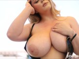 Enjoy Staring At Holly Garden Enormous Boobs While She Uncovers