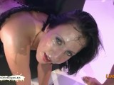 Chubby Baby With A Big-ass Gets Her Cute Face Creamed – German Goo Girls