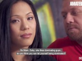 AmateurEuro – Big Booty Asian Teen Fucked Hard At Casting