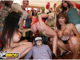BANGBROS – College Party Gets Invaded & Turnt Up By A Lot Of Pornstars