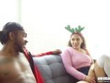 Naughty Latina Fucks Stepbrother For Christmas