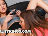 Reality Kings – Gamer Teen Gia Derza Gets Her Pussy Licked By Kendra Spade