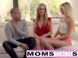 Moms Teach Sex – Big Tit Step Mom Catches Step Daughter
