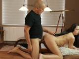 OLD4K. Mature Guy Pays For Vacation To Get Access To Teen Vagina