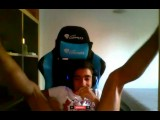 Black Teen Gets Banged While On Gaming Chair