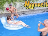 Chicas Loca – Russian Teen Stacy Snake Pool Party Threesome – MAMACITAZ