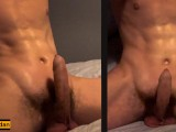 Hot Teen Jerking Off In Bed To His Step Sister Next Door – HD
